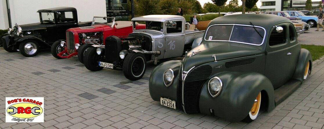 Hot Rod Rat Rod Street Rod Pick up Custom 50s Rockabilly Car Show ...