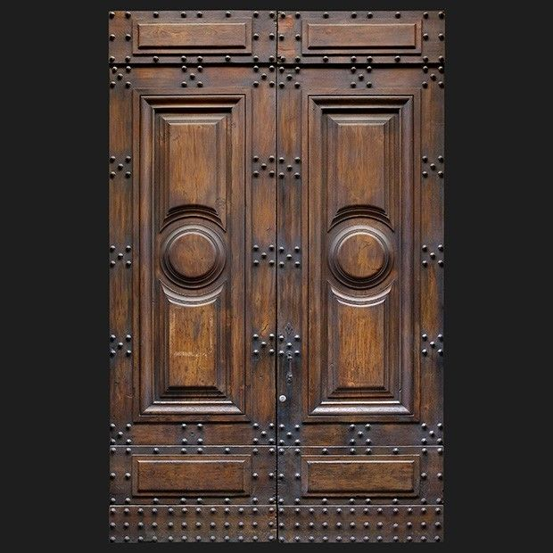 Old italian wooden front door textures doors for Wood carving doors hd images