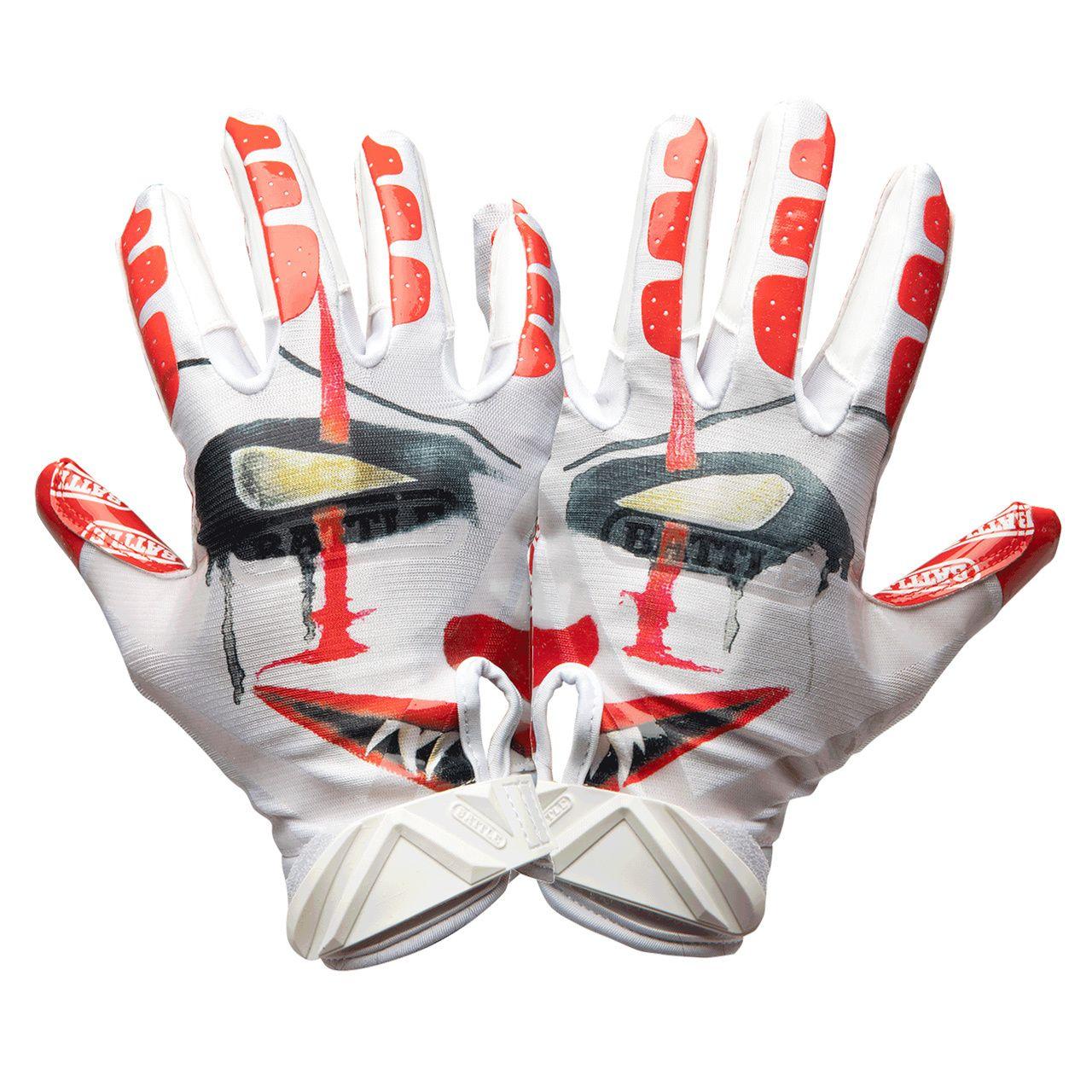 custom football gloves nike