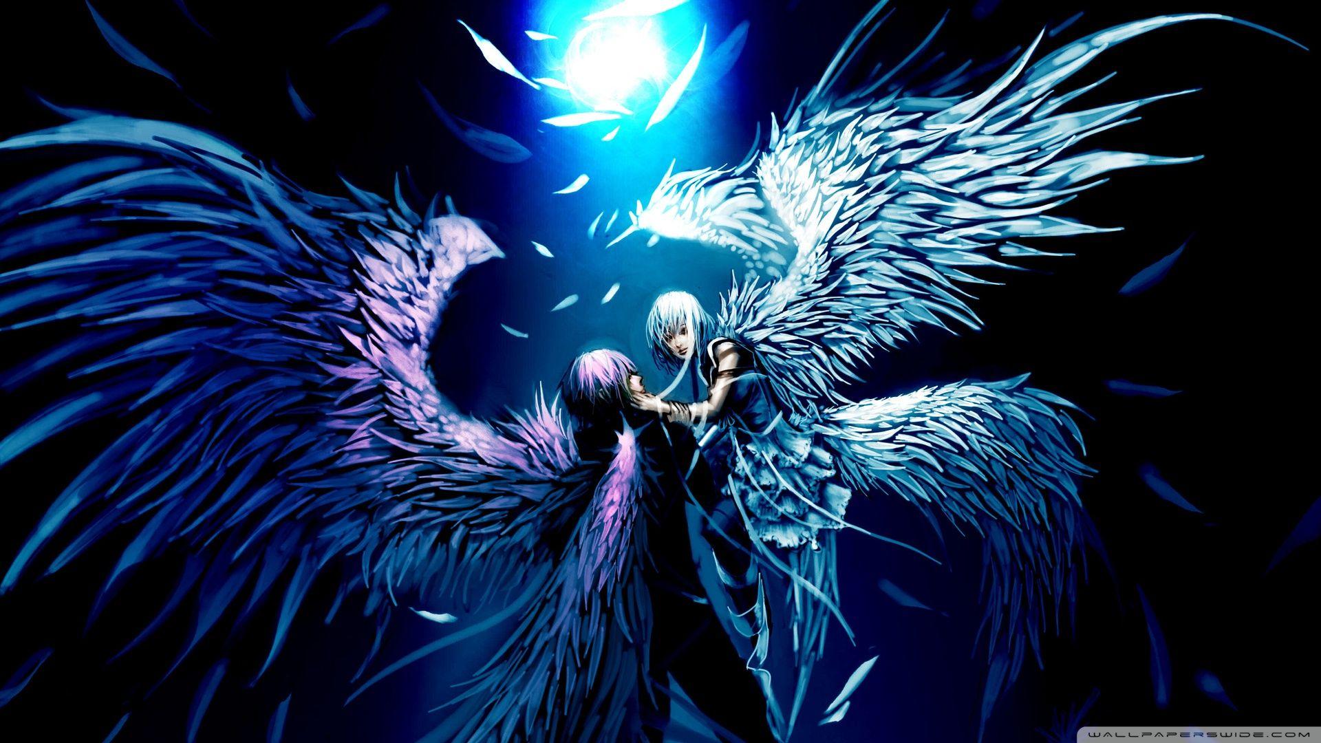 Anime wallpaper 1920x1080 46846 Anime angel, Animasi
