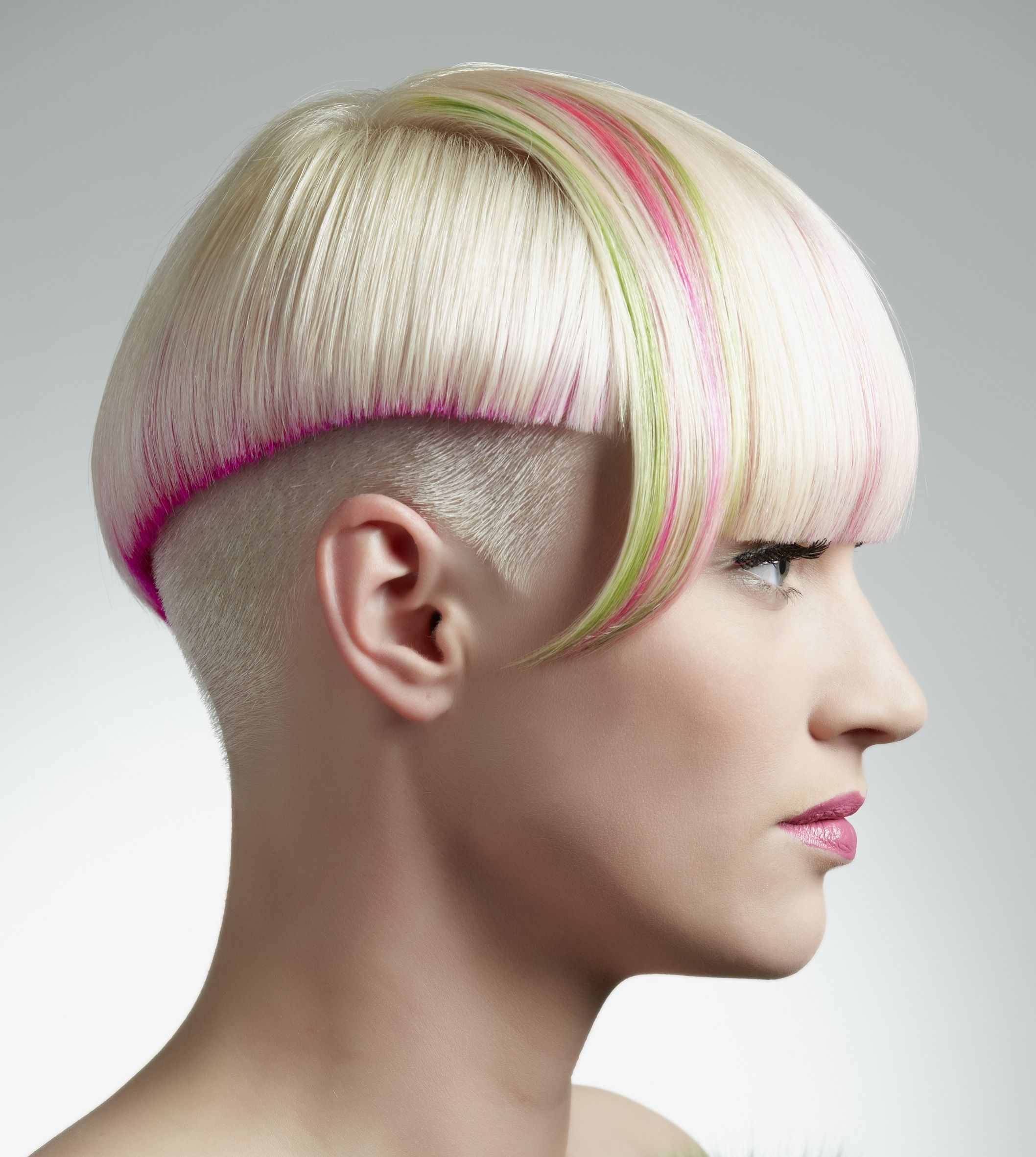 Fabulous Color Design And Haircut By Jannie Hansen The Pink Color