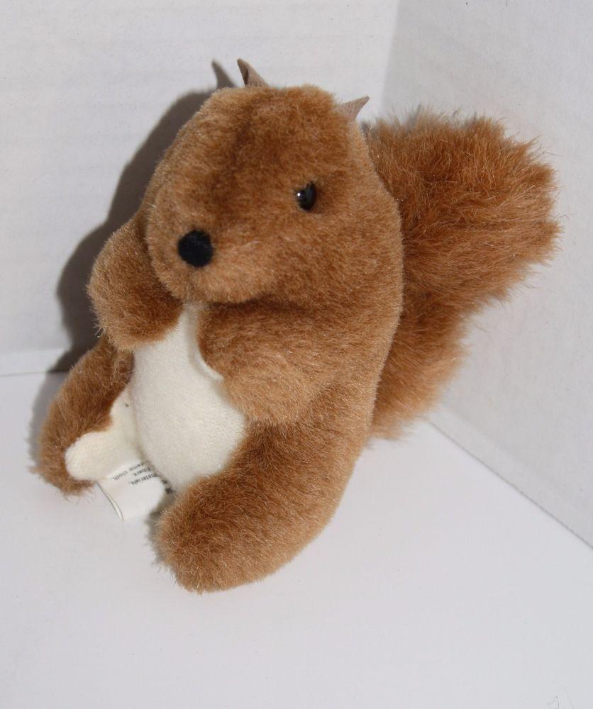 Hallmark Squirrel Brown Cream Plush Soft Toy 4 Mini Baby Stuffed Animal Small Baby Stuffed Animals Manhattan Toy Squirrel [ 1000 x 836 Pixel ]