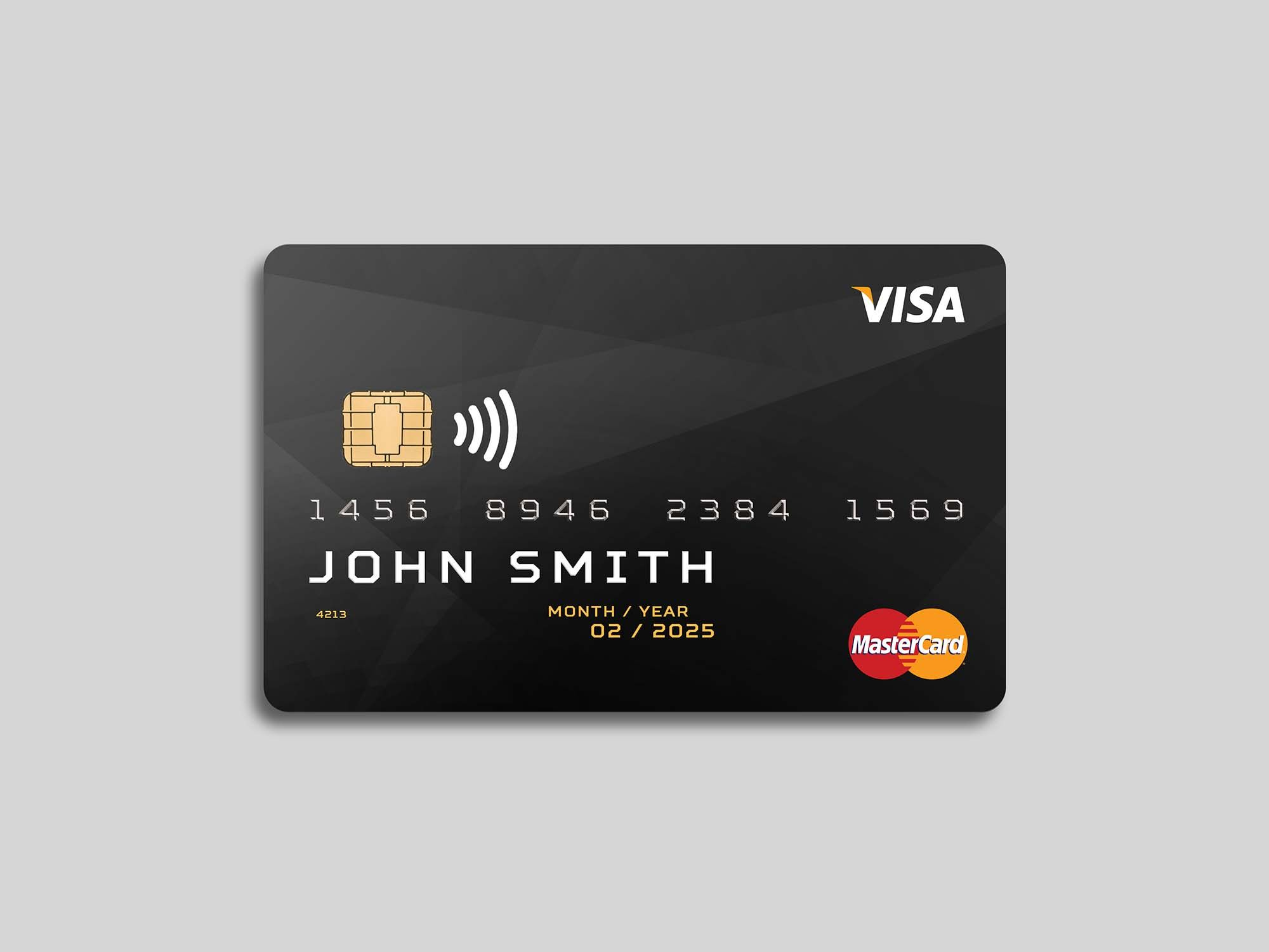 Free Plastic Debit Card Mockup Psd In 2020 With Images