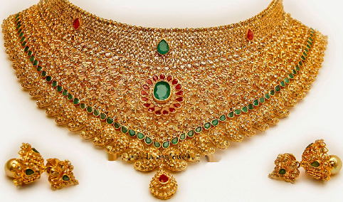 25 Simple And Modern Indian Gold Jewellery Designs Styles At Life Bridal Choker Gold Jewellery Design Indian Gold Jewellery Design