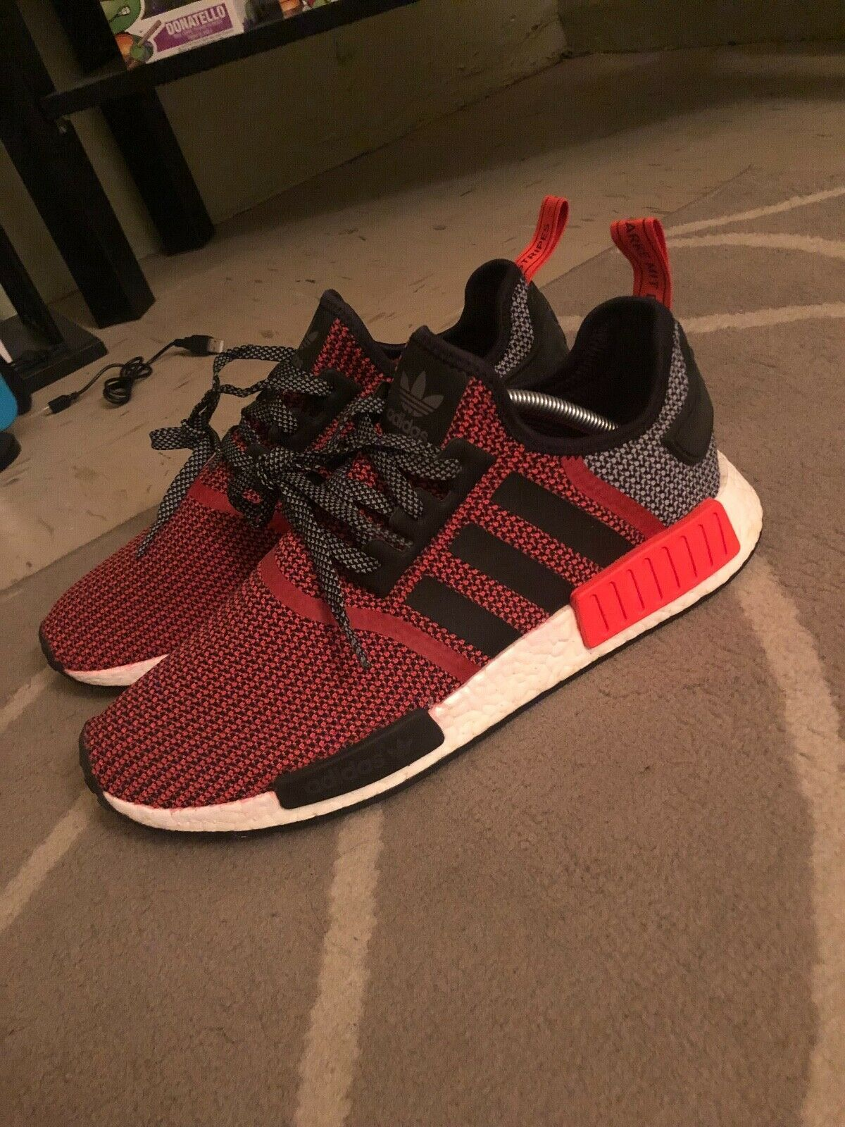 db6a9712fe2 2016 Adidas NMD R1 Lush Red SZ 11 KITH YEEZY SUPREME OFF-WHITE JORDAN BOOST  700. Find this Pin and ...