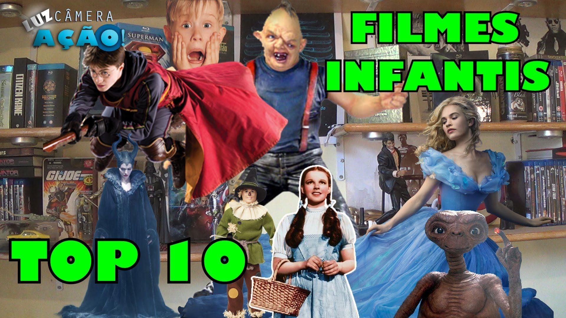 Top 10 - Os melhores filmes infantis