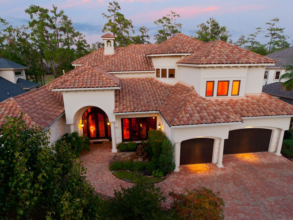 One day.... to have a Spanish tile roof will mean I have