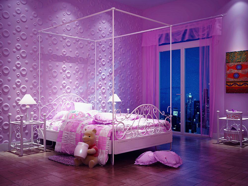 Interior Design mit außergewöhnlicher Wandverkleidung mit