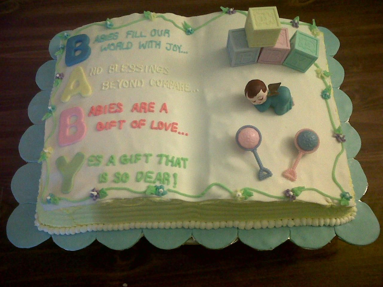 baby shower cakes baby shower cake book theme for your next baby
