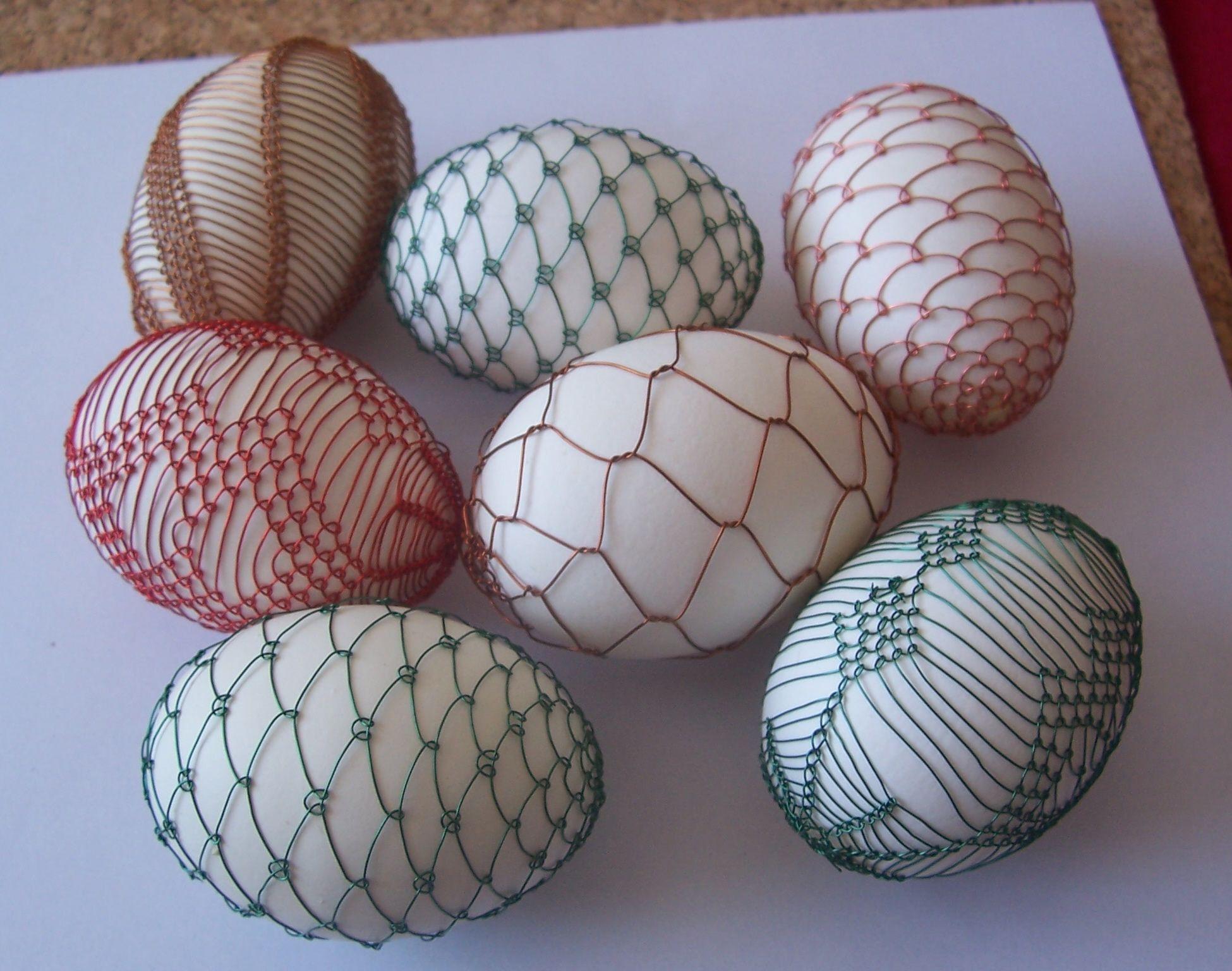 drátované kraslice od Libušky | Naše tvoření | Pinterest | Egg ...