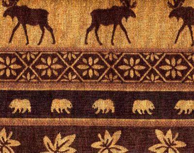 Auburn Moose Cabin Lodge Futon Cover Collection Futon Covers