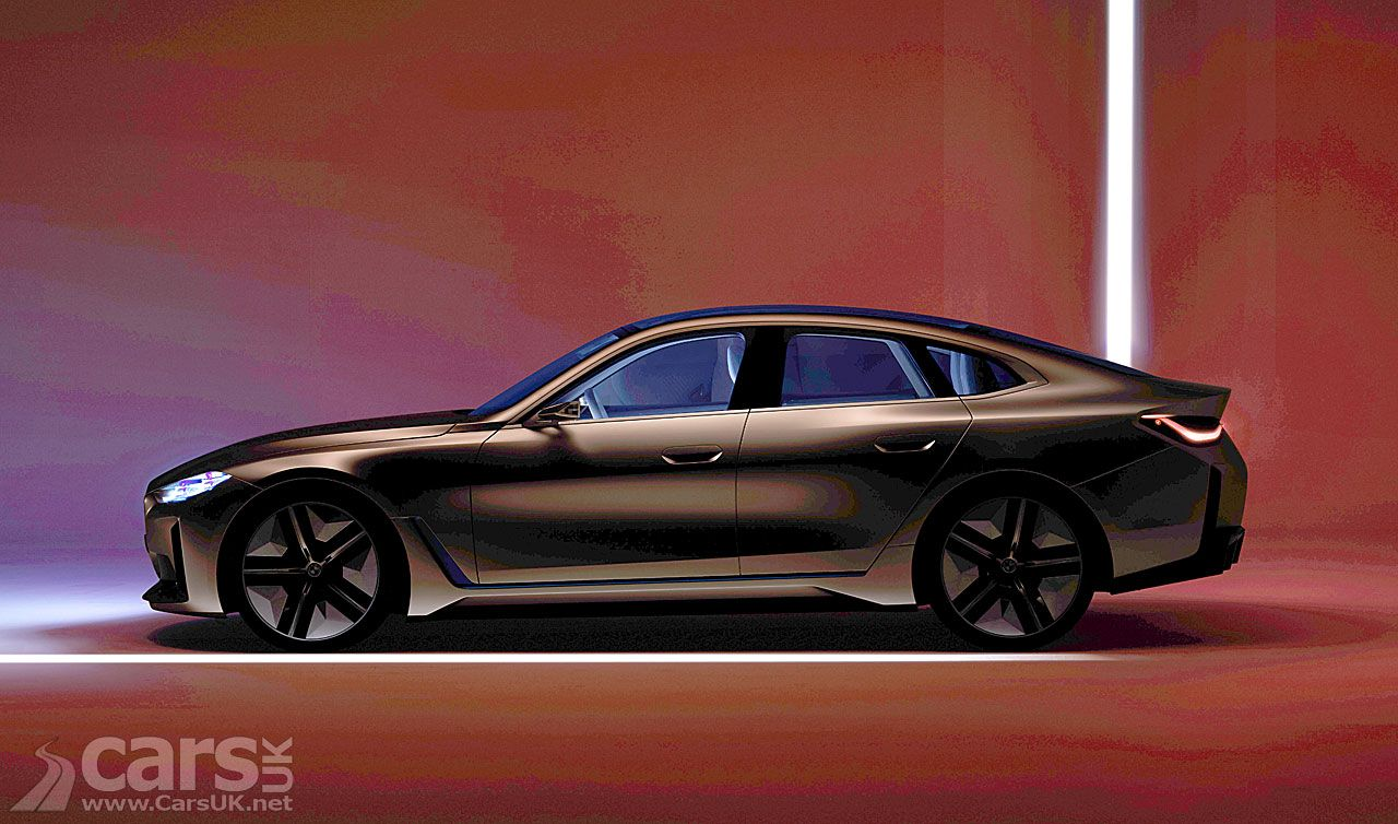 Bmw Concept I4 Bmw S Electric 4 Series Almost Revealed Ahead