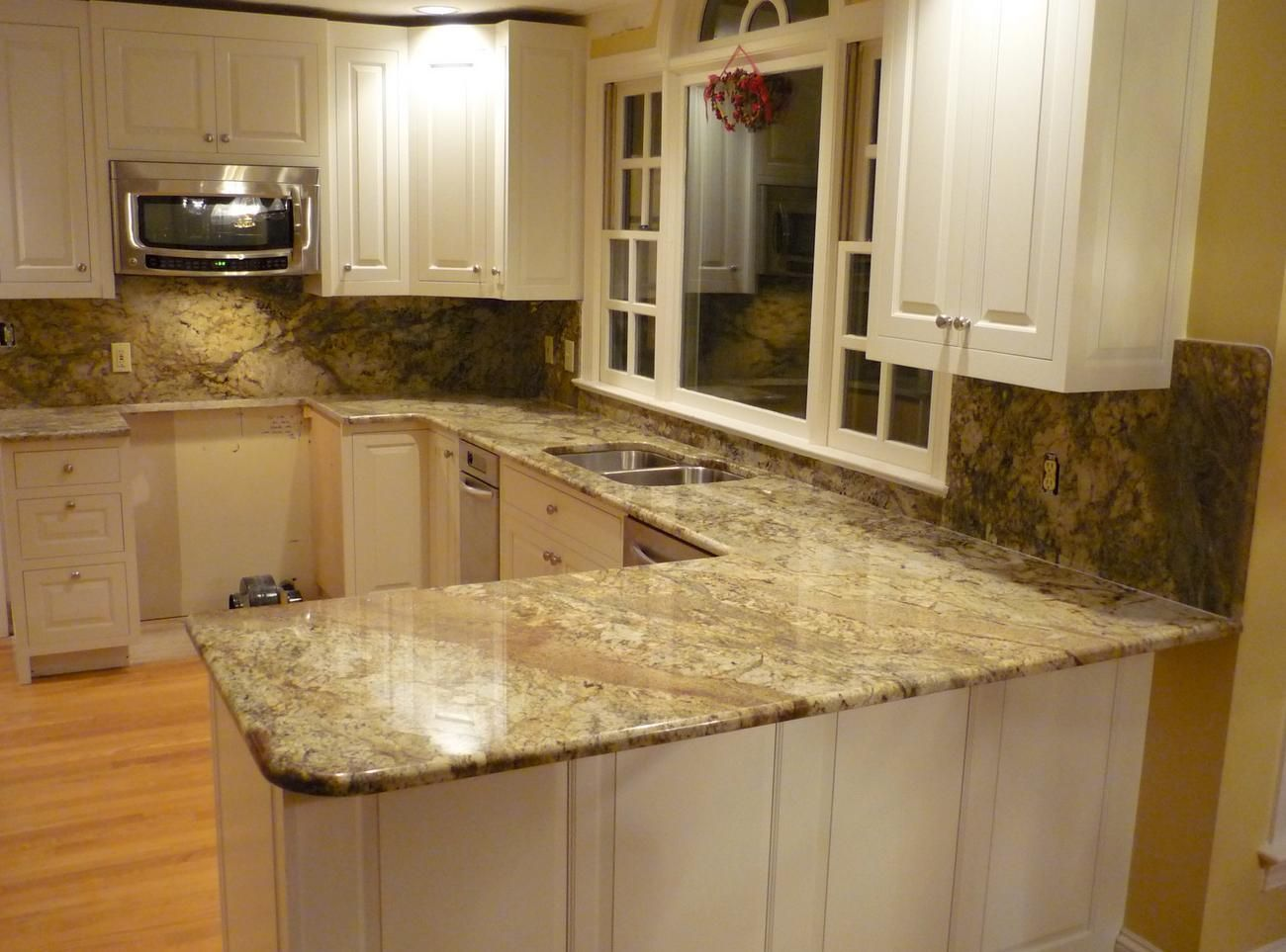 Laminate Countertops And Backsplash Ideas Part - 19: Laminate Countertops That Look Like Granite | Cooking, Setting Up The  Table, Washing Dishes