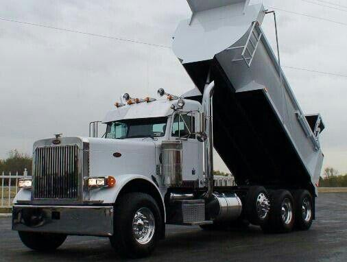 Peterbilt Dump Truck Big Rig Trucks Trucks Dump Trucks