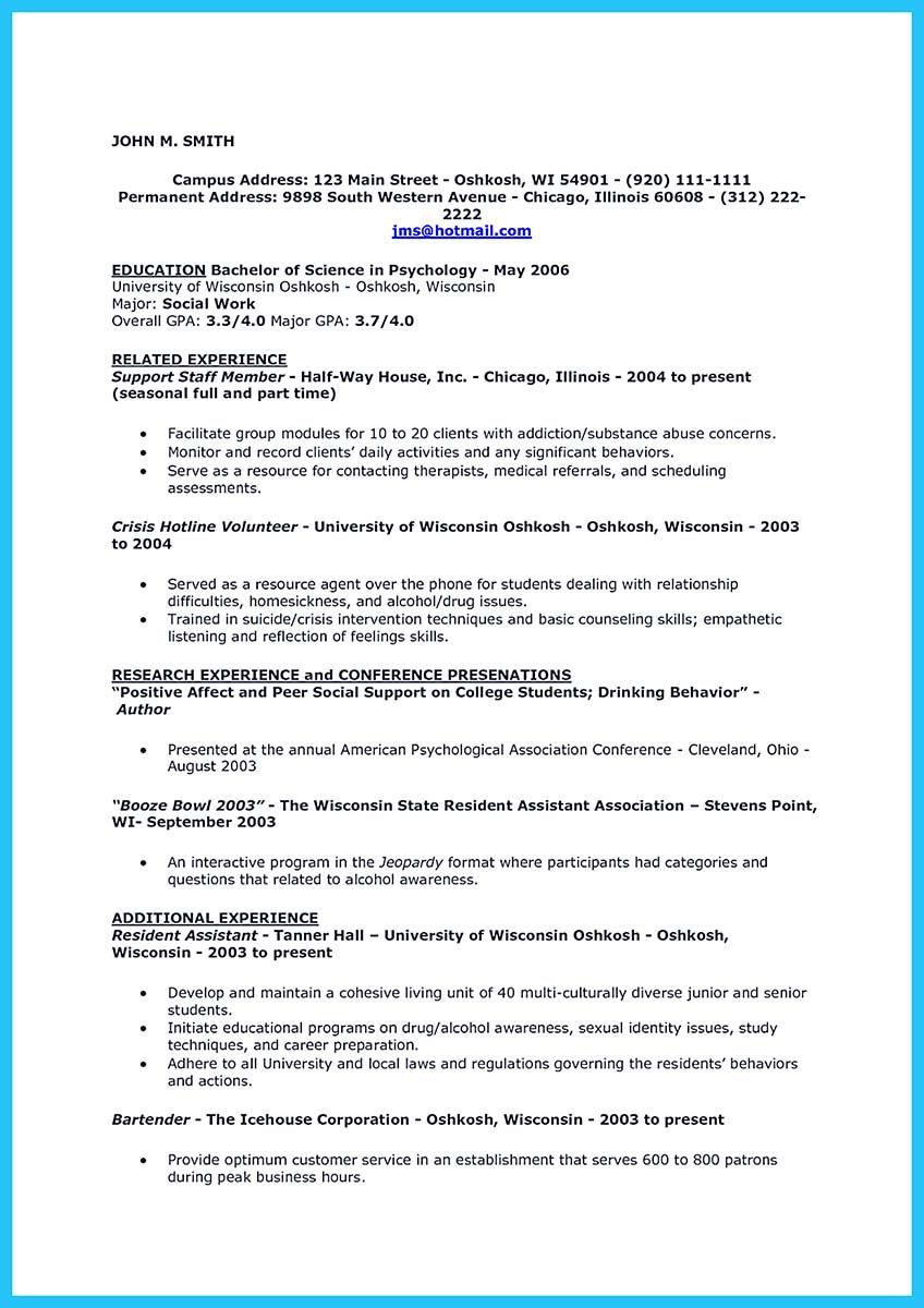 Bartending Resume Interesting Interested To Work As A Bartender Then You Must Make A Bartending