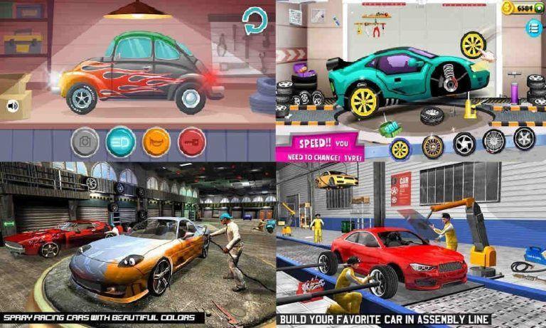 Anak Gamer Rekomendasi Game Android Terbaik 2019 Mekanik Mobil Mobil Klasik Truk Pickup