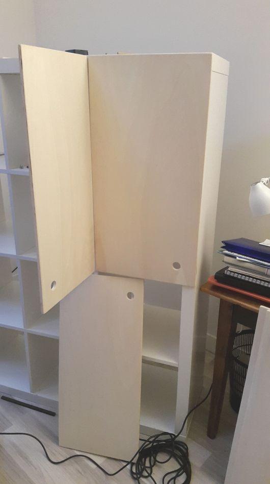 Ikea hack : portes pour Kallax