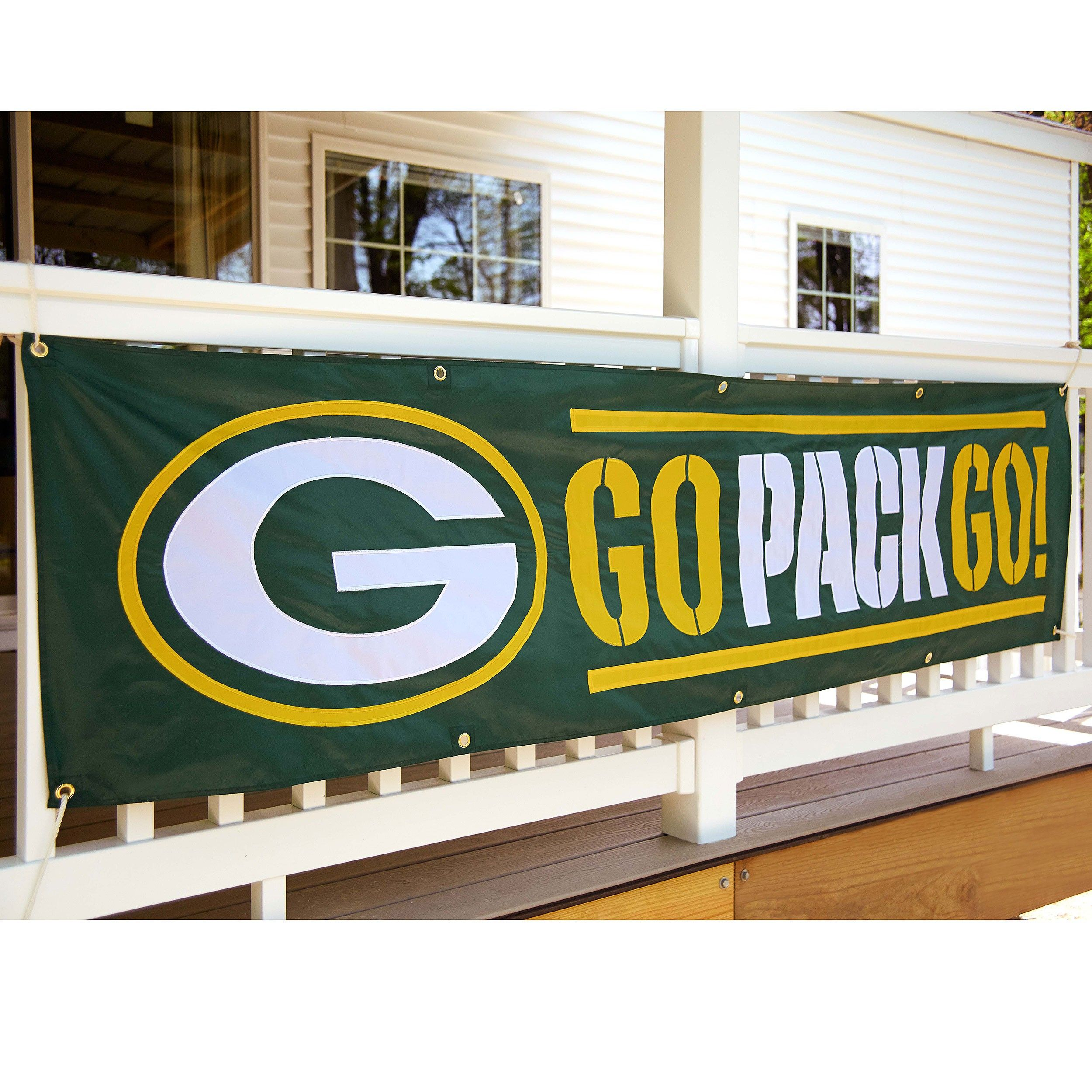 New Fashion Green Bay Packers Flag 3 5 Ft Banner 100d Polyester Flag Size No 4 144 96cm Custom Flag B E S T Online Marketplace Salevenue Nfl Flag Green Bay Packers Sports Flags