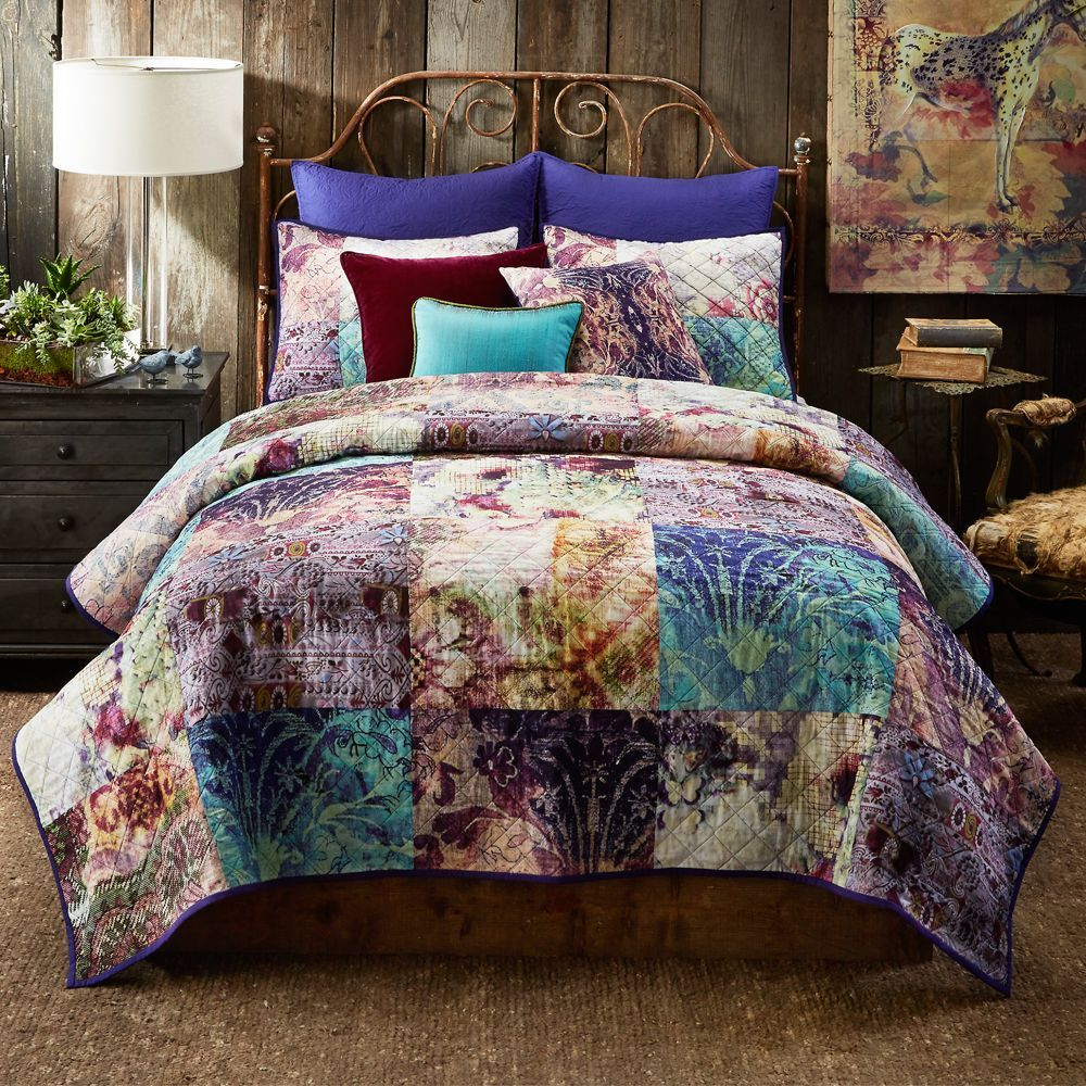 Poetic Wanderlust Tracy Porter Calantha Quilt, King | Products ... : quilt king products - Adamdwight.com