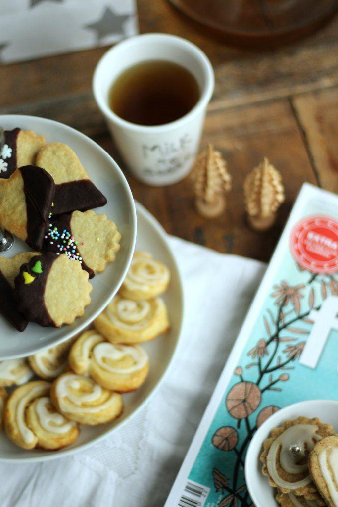 Geschenke aus der Küche Lemoncurd-Plätzchen und Earl-Grey-Kekse - geschenke aus der küche weihnachten