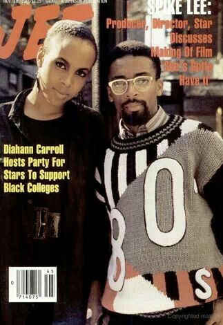 Tracy Camilla Johns & Spike Lee on the cover of Jet magazine