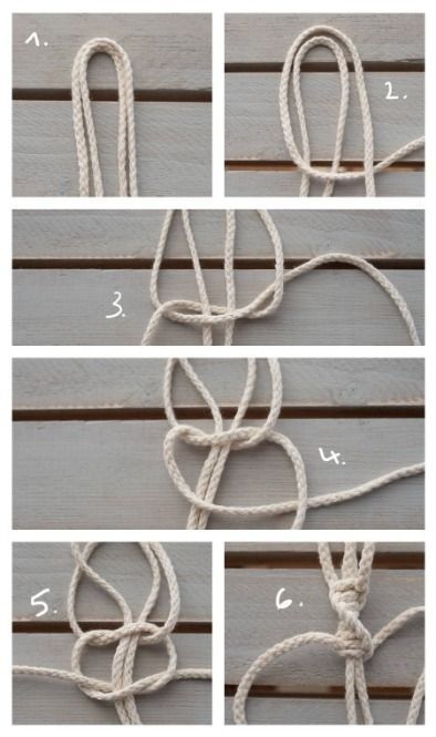 Photo of Homemade macrame plant hanger – Instructions