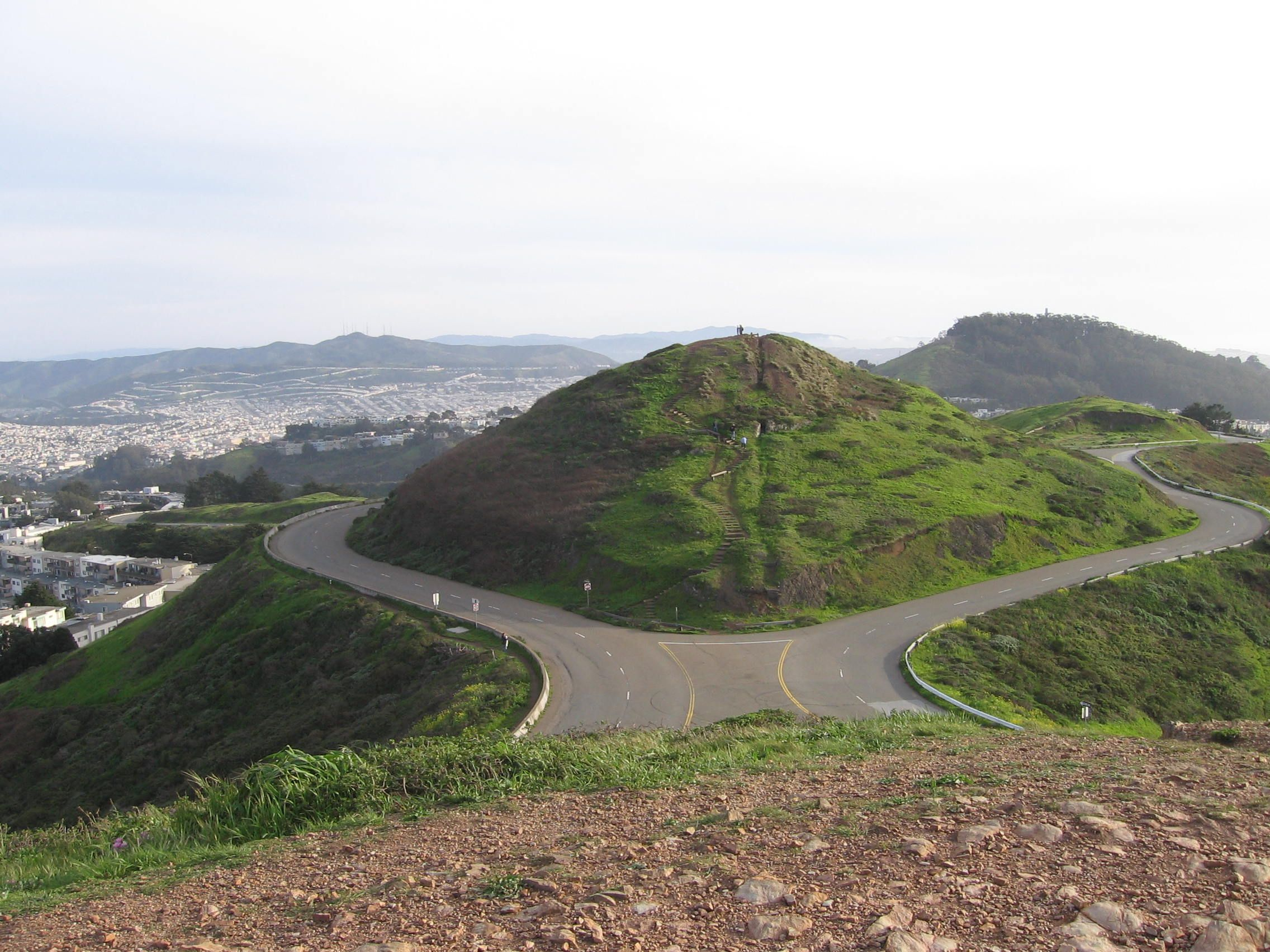 Twin Peaks San Francisco California travel, San