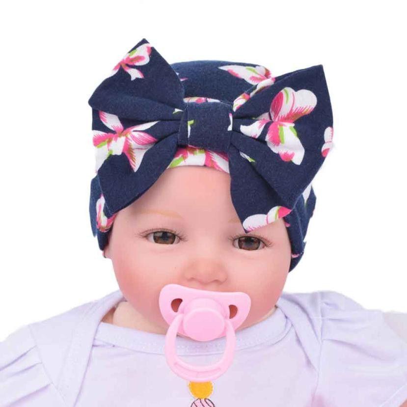 3f7dfe54760 Newborn Baby Bow Hats