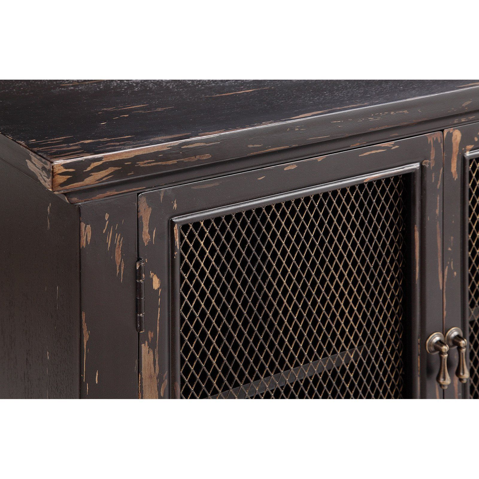 The Hastings Accent Cabinet Adds Style And Functionality To Your Home Decor This Cabinet Has A Hand Painted Distres