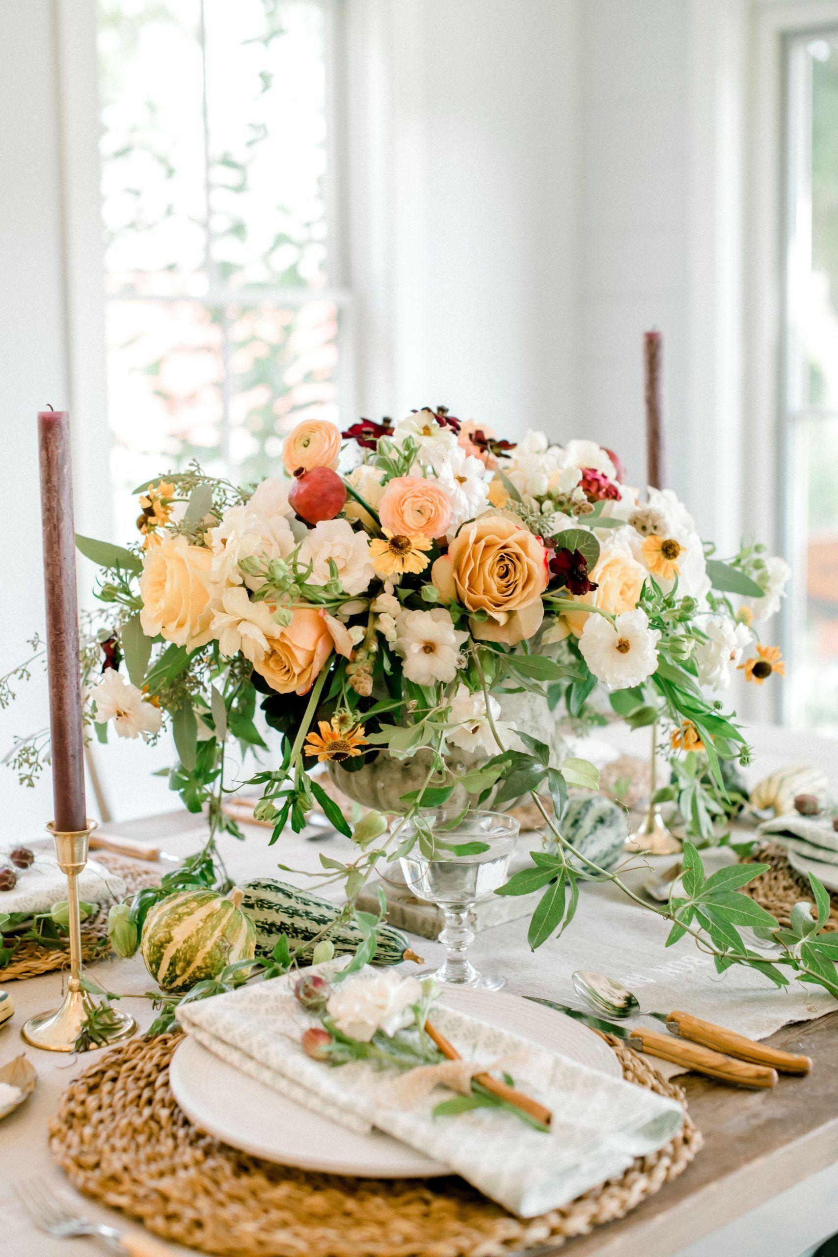 Thanksgiving Table Decor | Thanksgiving table decorations ...