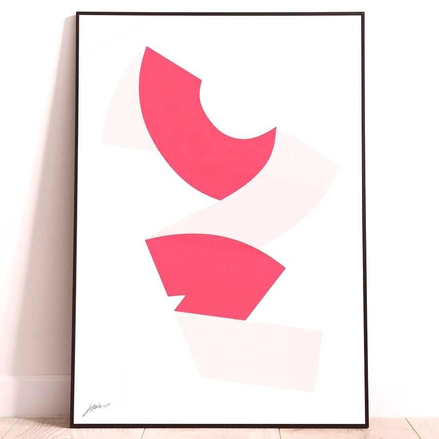 #grafikgalerie #silkscreen #exhibition #frammenti #december #tagging #shared #212019 #joseph #colour #lebus #photo #print #due #for Two colour silkscreen print for 'Frammenti Di...