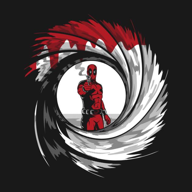 Dead Shot By Andriu Deadpool Comic Deadpool Superhero Texts