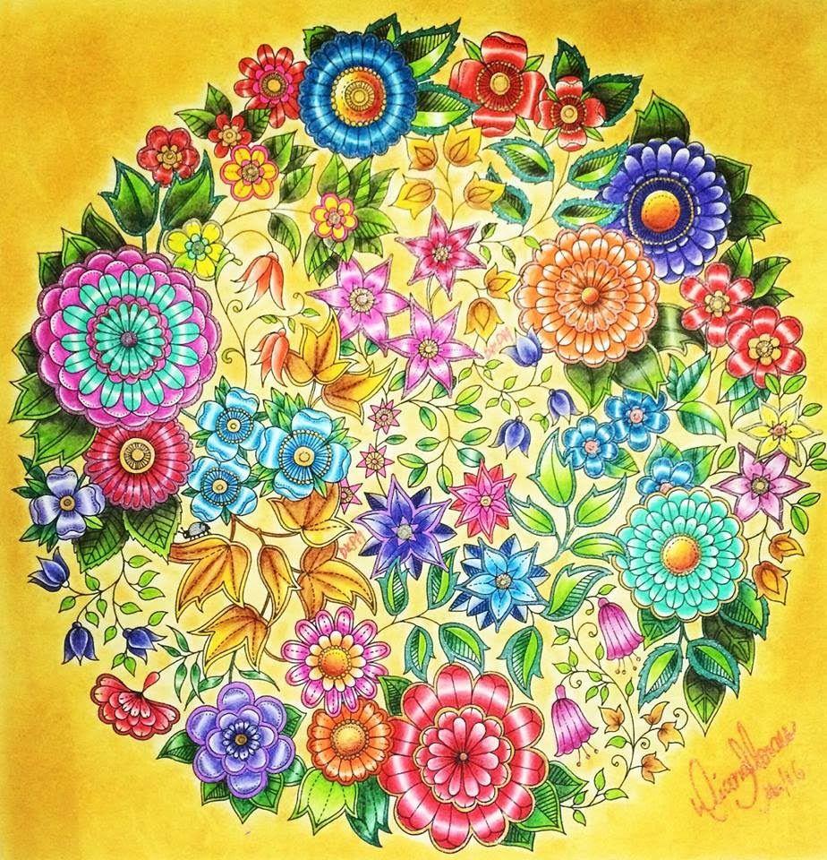 The secret garden coloring book target - Watches