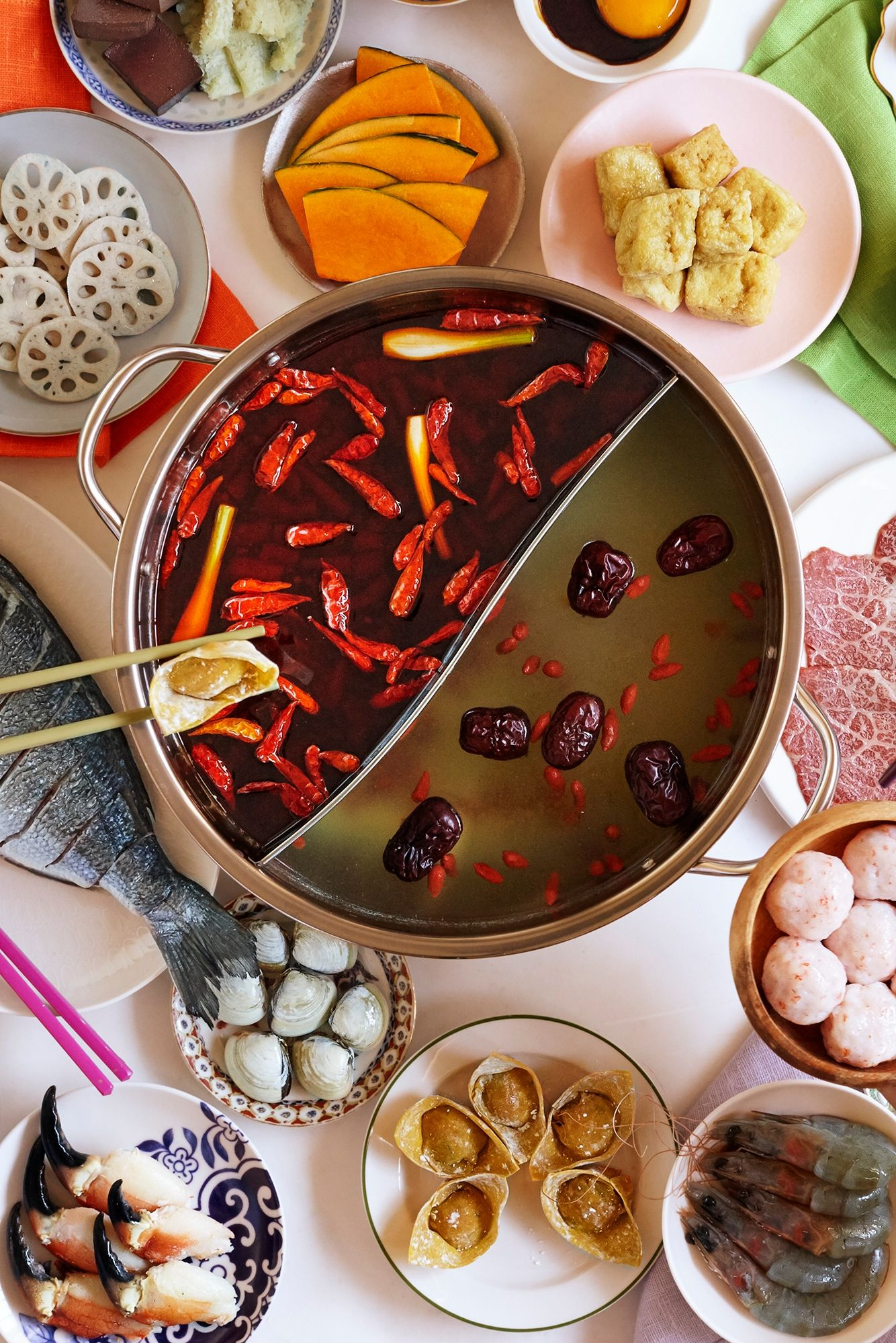 Table Top Chinese Hot Pot 4.5 litres, Serve 68 in 2020