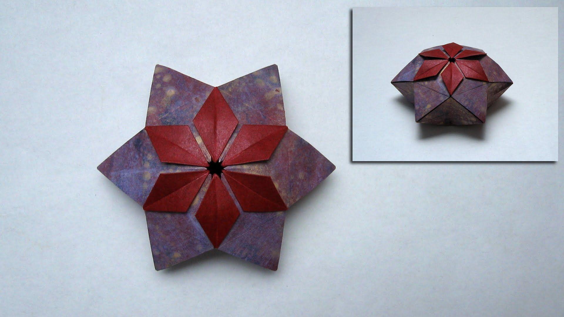 Christmas Origami Instructions Pelleas Box Peter Keller Paper