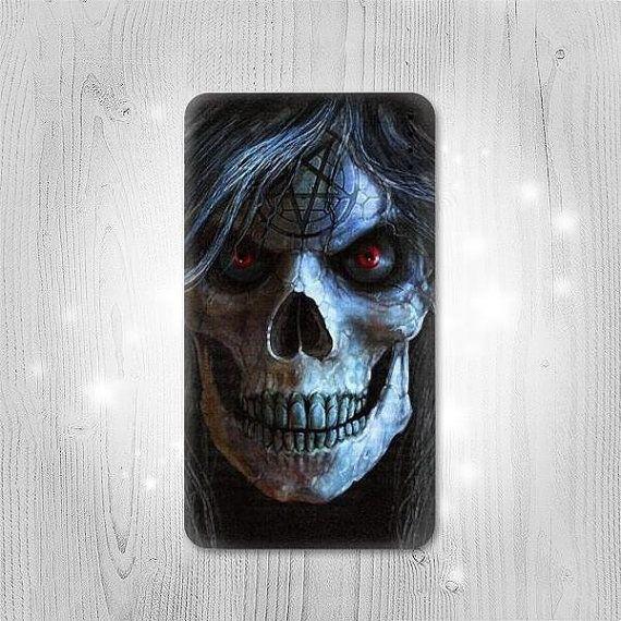 Evil Death Skull Pentagram Gadget Personalized Tech by Lantadesign