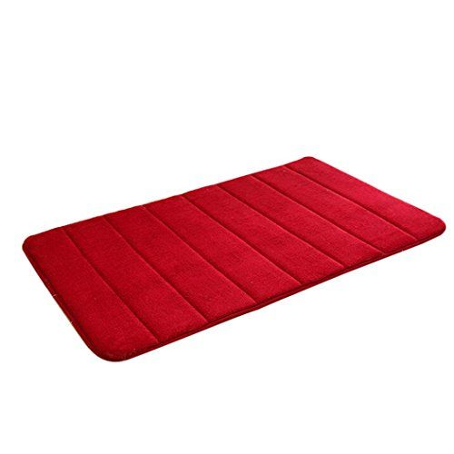 Lingery 80 X 50cm Foam Mat Absorbent Slip Resistant Pad Bath Mat