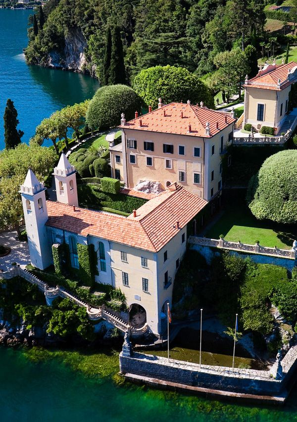 Villa Balbianello Lake Como 1 Lake como villas, Lake