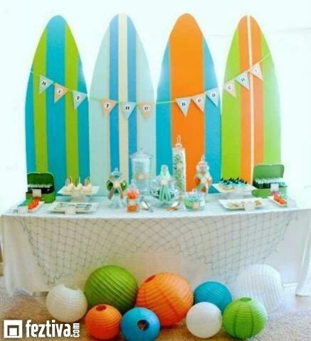 decoracion de fiestas infantiles en la playa buscar con google