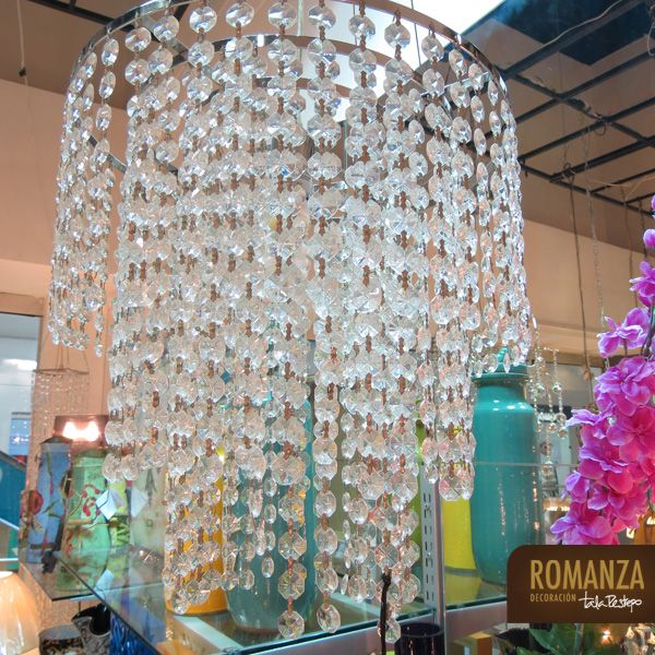 Lámparas : lampara cristales. lampara hecha en tres capas de ...