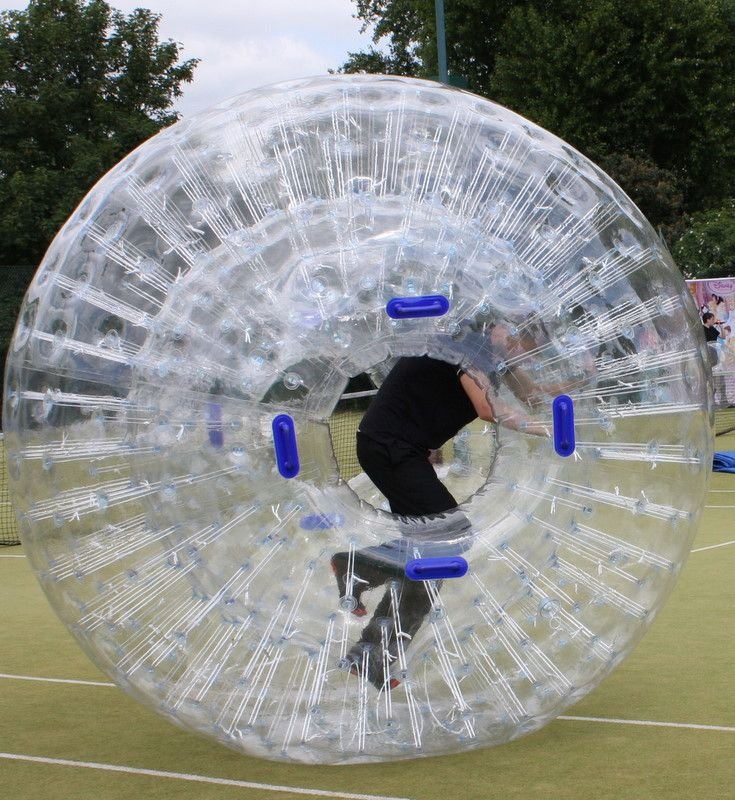 Human Hamster Balls Race Your Friends Or Play Bumper Cars