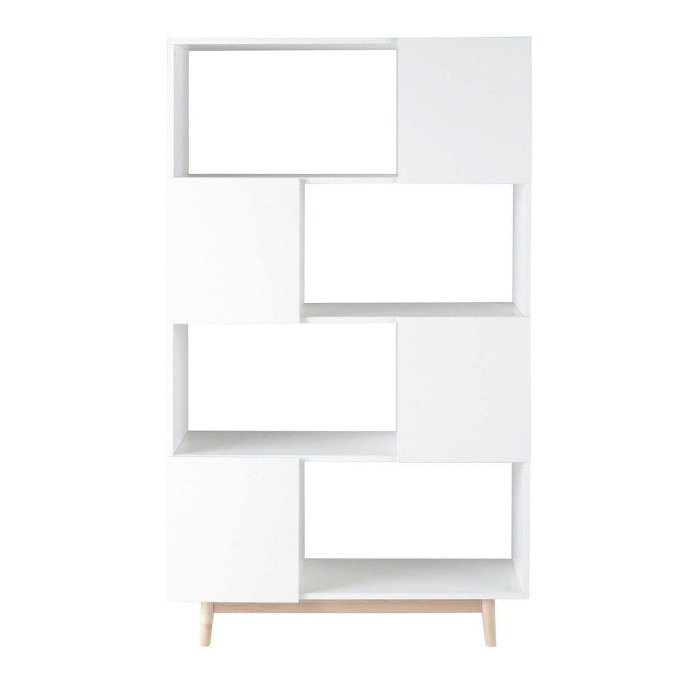 Scala Per Libreria Ikea libreria vintage bianca a 4 ante (con imágenes) | madera