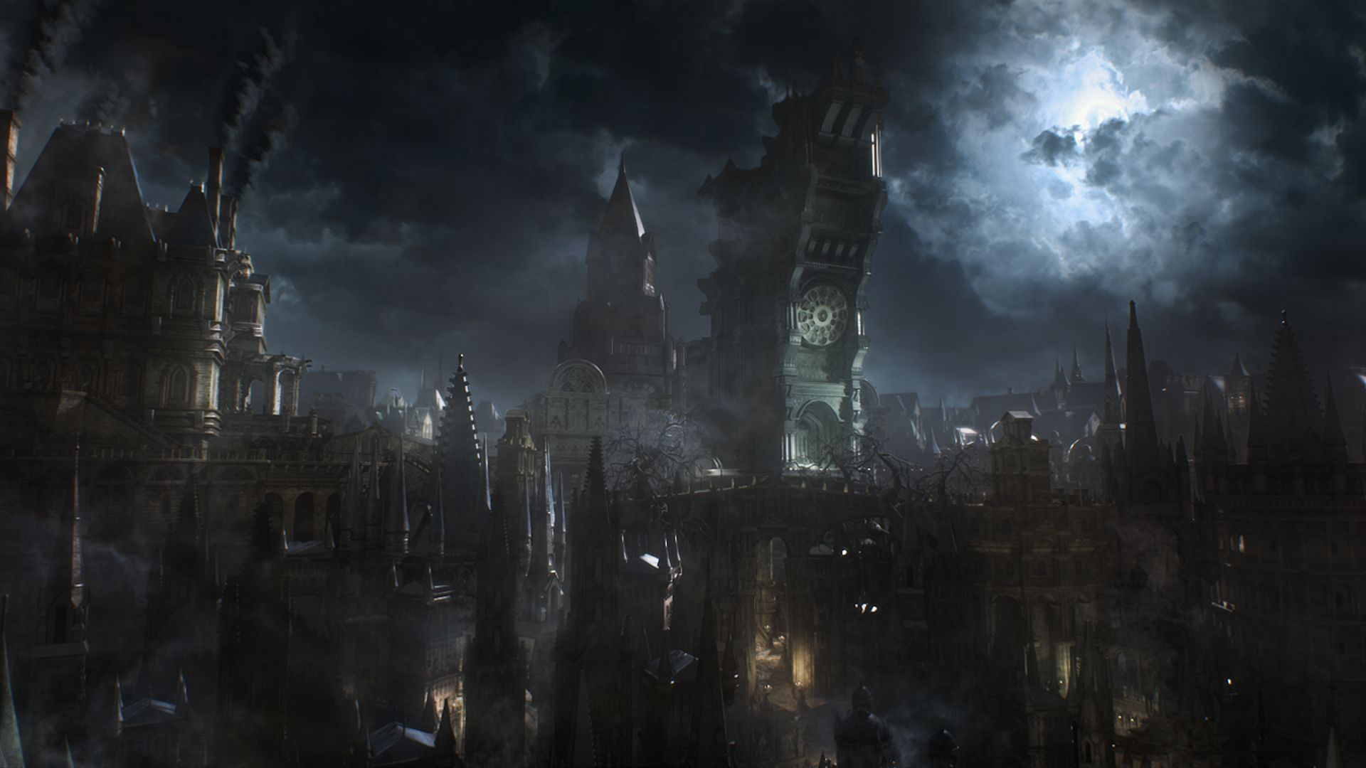 The Music Of Bloodborne Review Bloodborne Concept Art