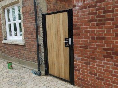 Lavish Wooden Gate Mortice Lock And Wood Gate Locking Security