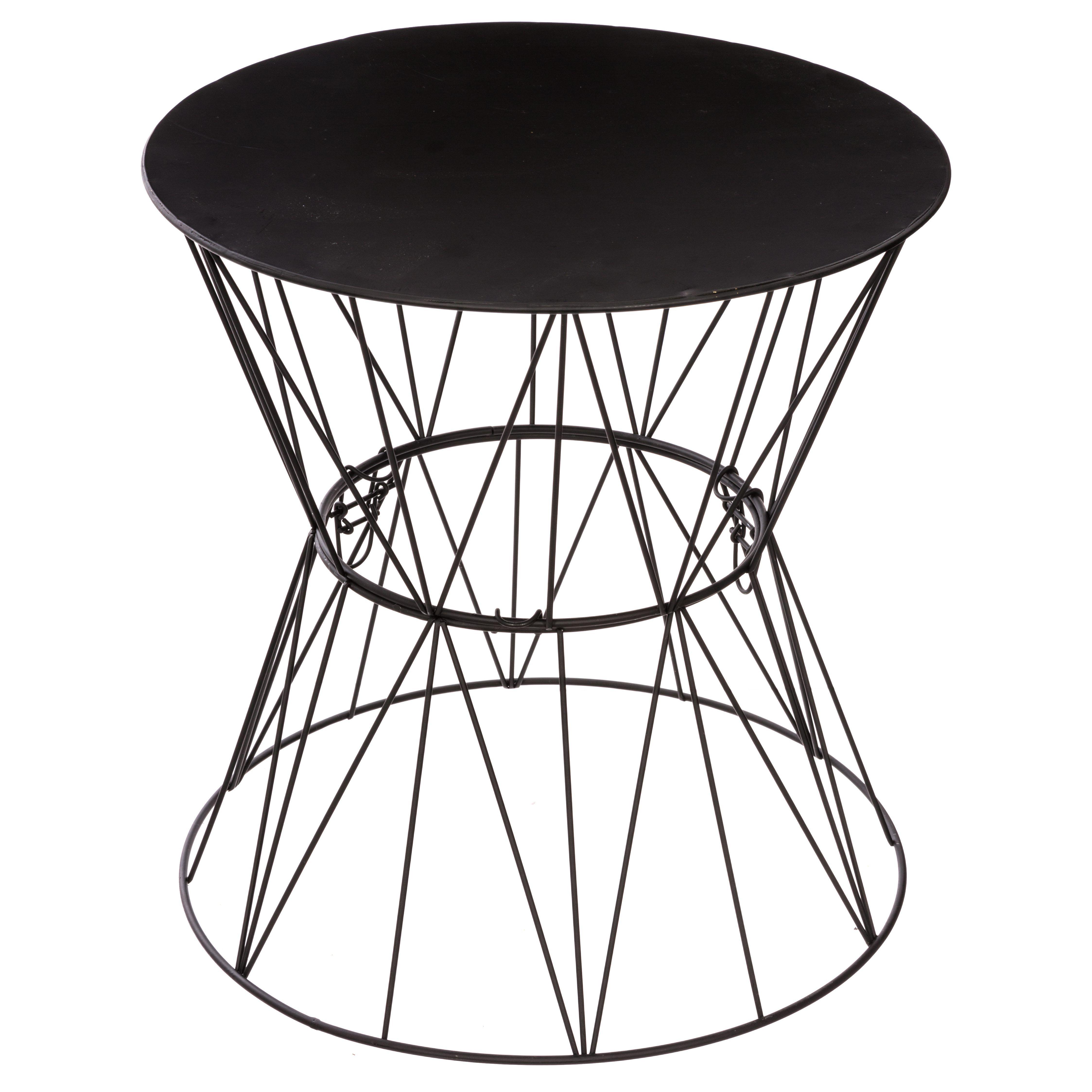 Table Design Noir Filaire Salon Canape Bout De Canape Filaire Jim Noir But Table Cafe Table D Appoint Bout De Canape