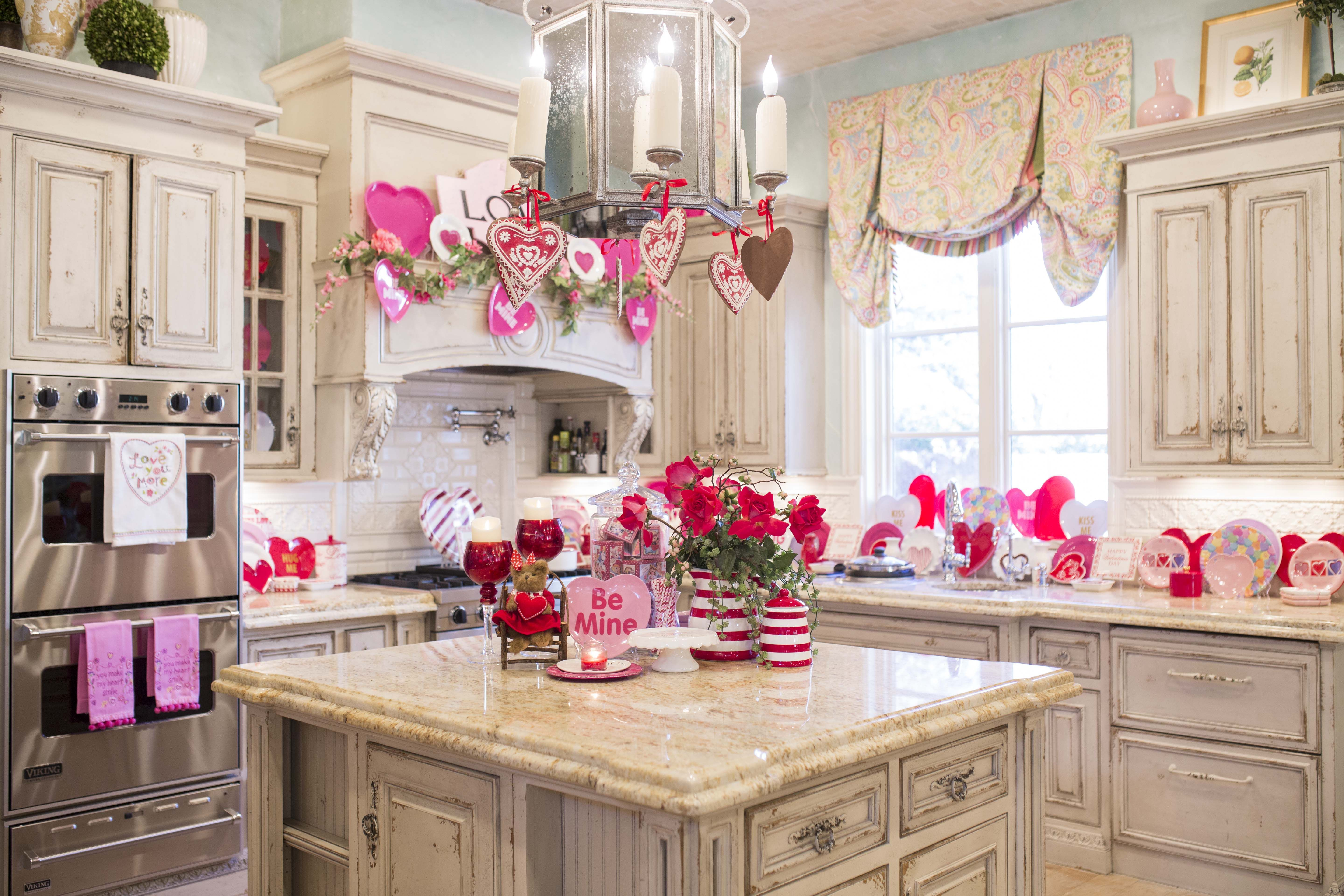 my valentine s day kitchen decor what do you think kitchen decor country style kitchen on kitchen ideas decoration themes id=53513