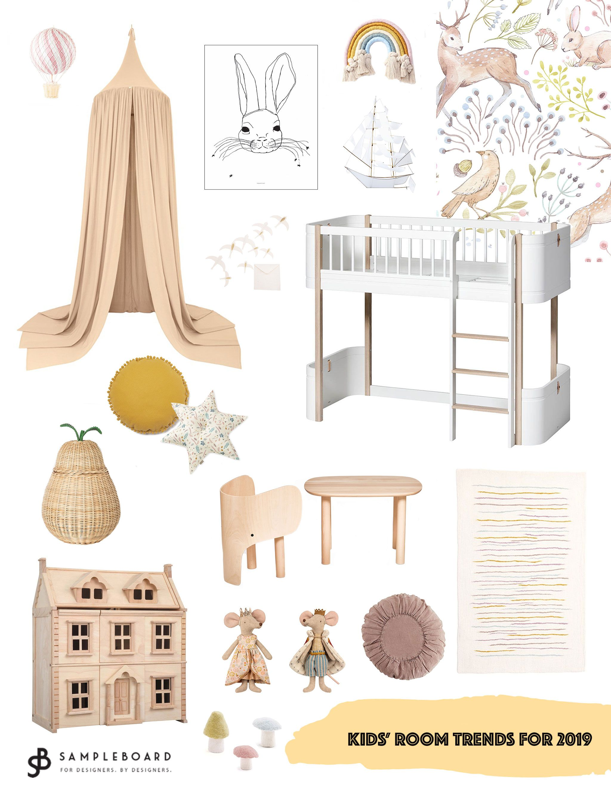 Not Your Usual Top 10 Kids Room Trends For 2019 Toddler Room
