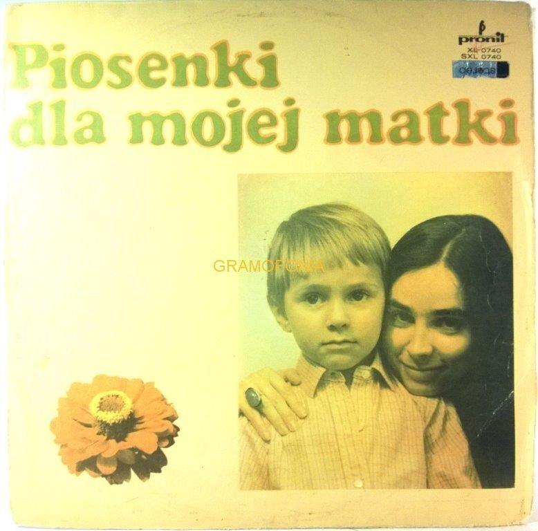 Various Piosenki Dla Mojej Matki Piosenki Plyty Winylowe I Matki