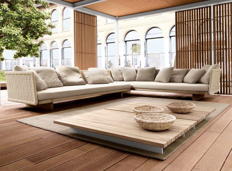 Outdoor Living Rooms Sofa Design