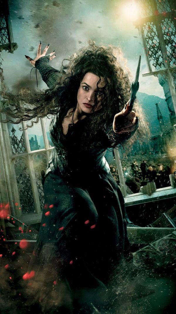 Bellatrix Lestrange Harry Potter And The Deathly Hallows Movie Harry Potter Deathly Hallows Bellatrix Lestrange Harry Potter Characters